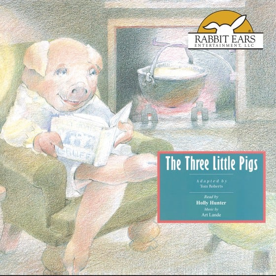 The Three Little Pigs by Tom Roberts