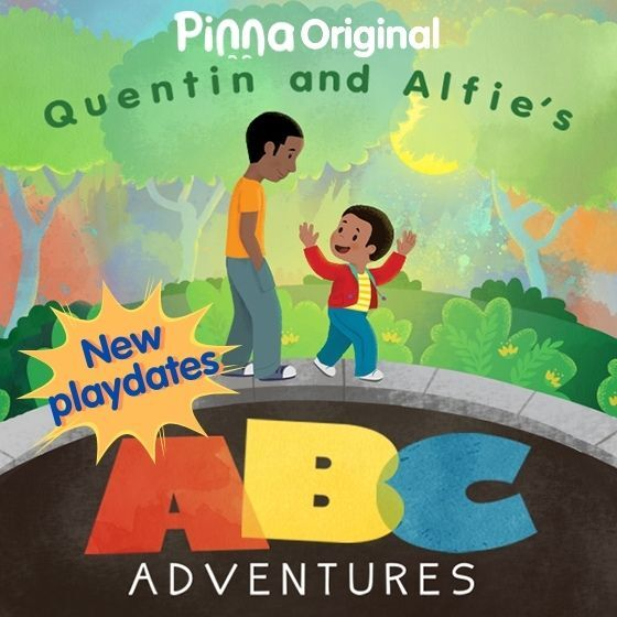Pinna Original podcast Quentin and Alfie's ABC Adventures