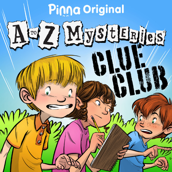 Pinna Original podcast A to Z Mysteries Clue Club