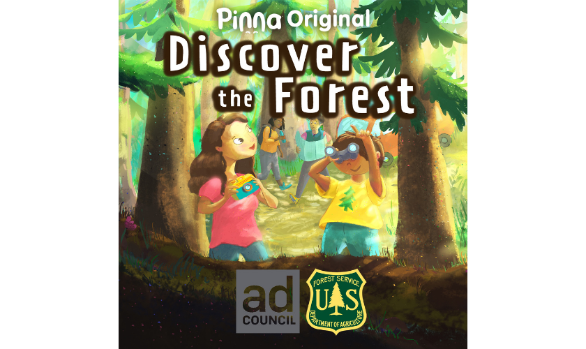 Pinna Original podcast Discover the Forest