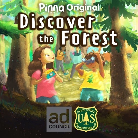 Pinna Original podcast Discover the Forest