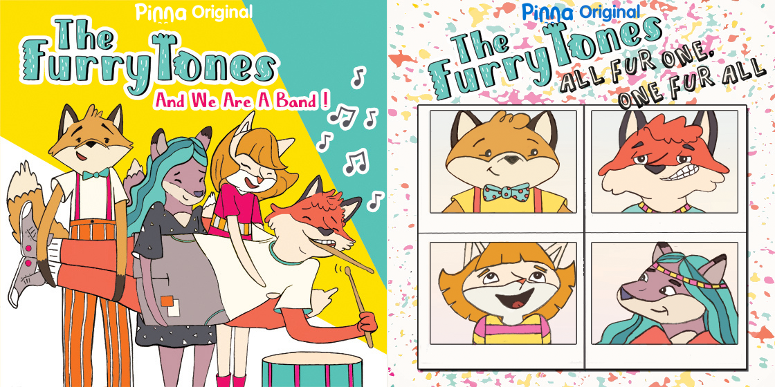 Pinna Original music The FurryTones
