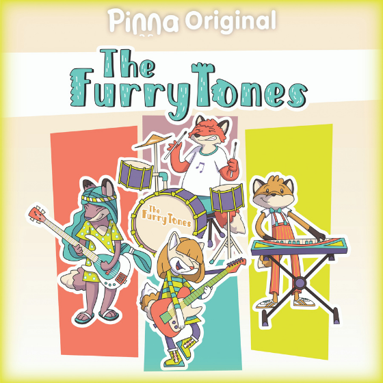 Pinna Original podcast The FurryTones