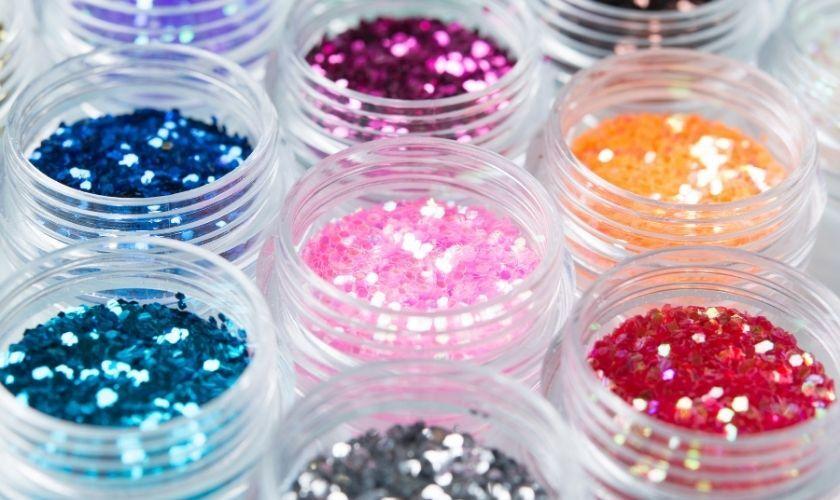 jars of glitter