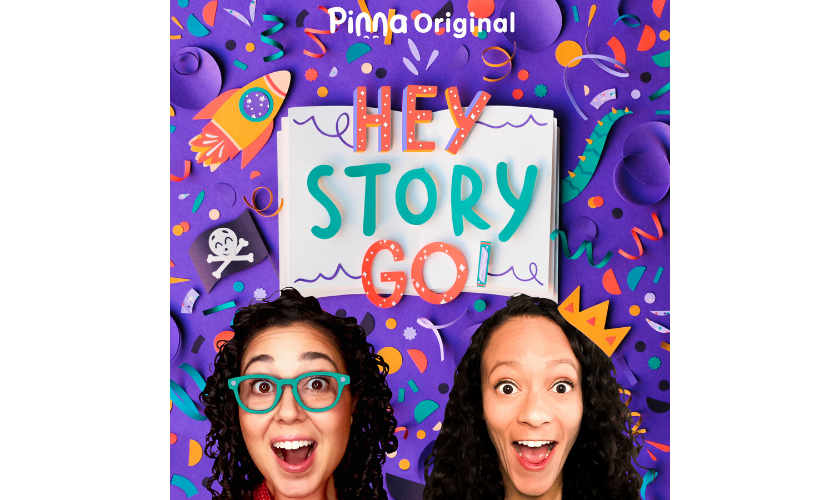 Pinna Original podcast Hey Story Go!