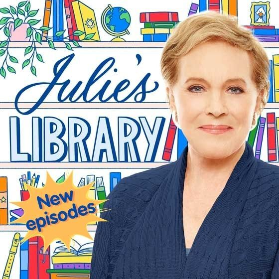 American Public Media Julie's Library podcast with Julie Andrews