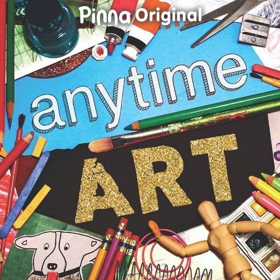 Pinna Original podcast Anytime Art