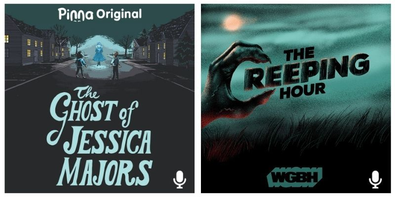 Pinna Original podcast The Ghost of Jessica Majors and The Creeping Hour podcast