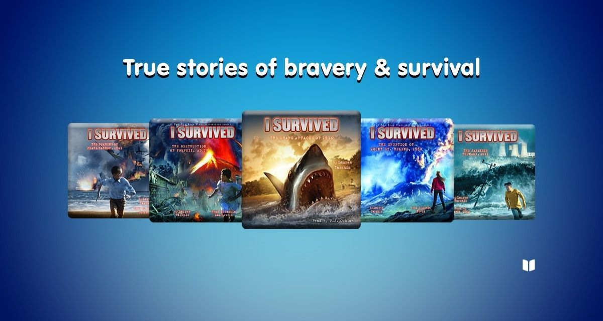 I Survived by by lauren tarshis