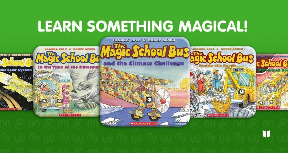 The Magic School Bus audiobook series