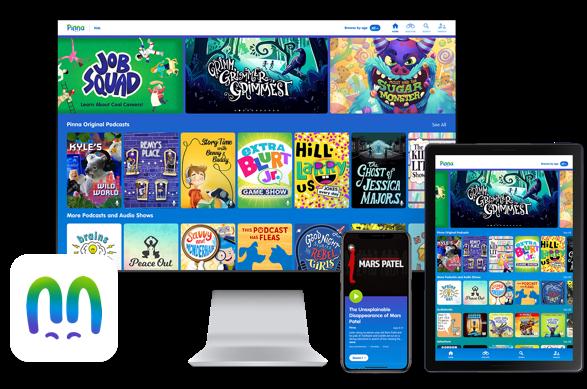 Kids Podcasts, Audio Stories, Music, Audiobooks & More - Pinna
